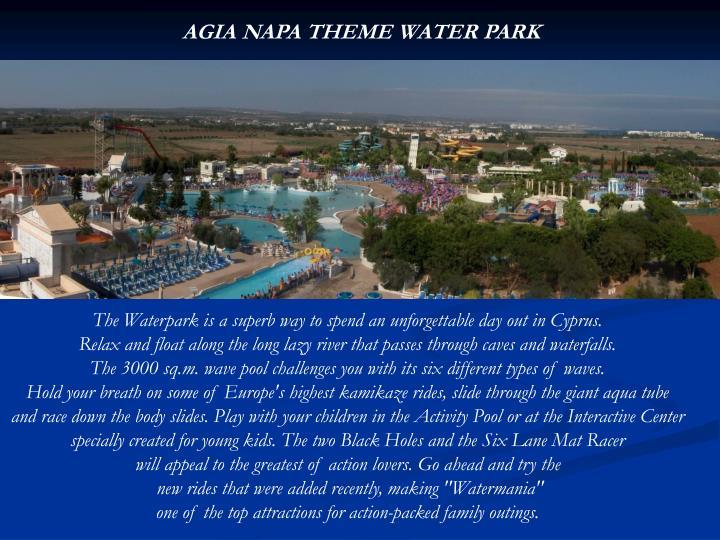 AGIA NAPA THEME WATER PARK