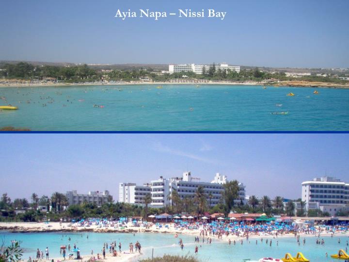 Ayia Napa – Nissi Bay