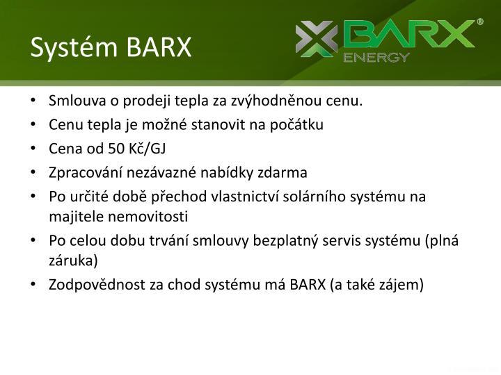 Systém BARX