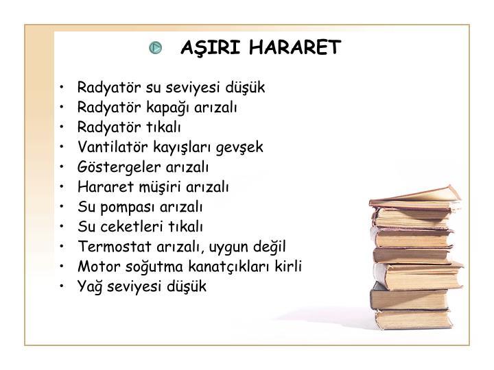 AŞIRI HARARET