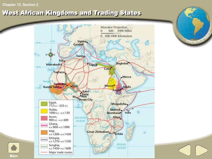 west african kingdoms and trading states n.