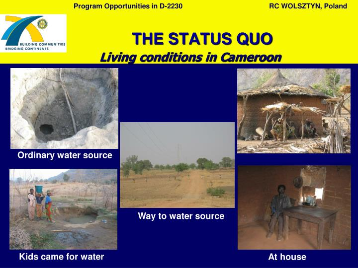 Living conditions in C