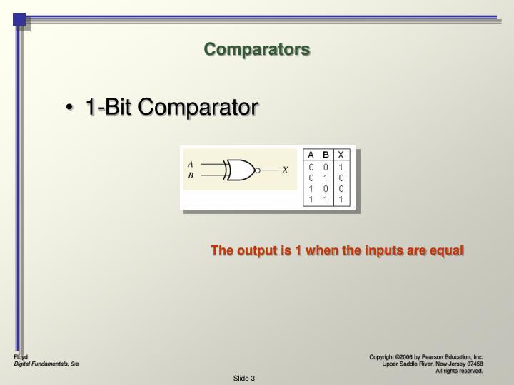 Comparators1