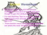 norman werewolves