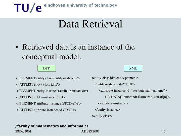 Data Retrieval