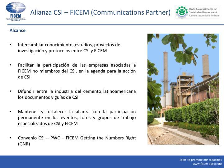 Alianza CSI – FICEM (