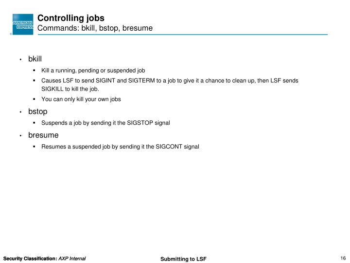 ppt submitting and monitoring jobs end user training powerpoint