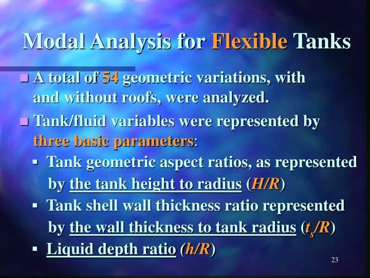 Modal Analysis for