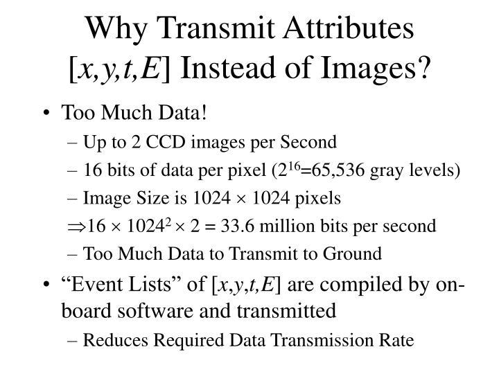 Why Transmit Attributes [