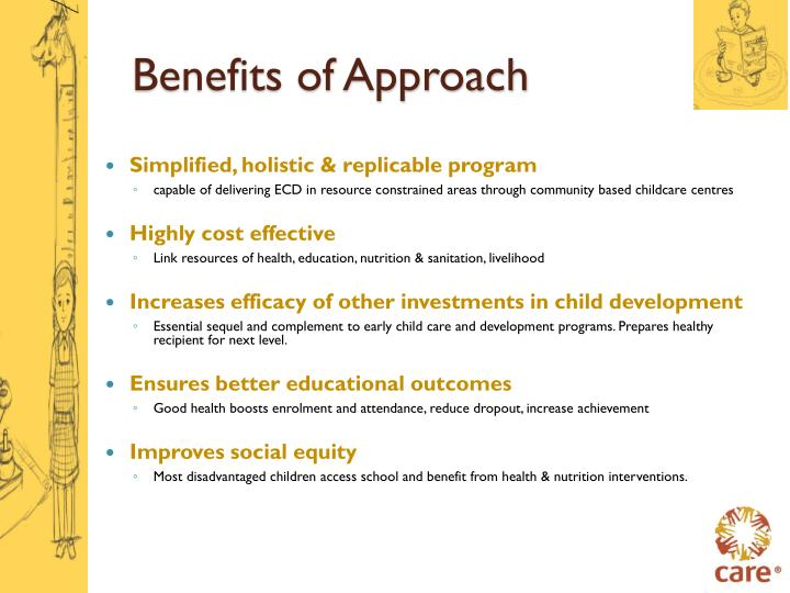 Benefits of Approach