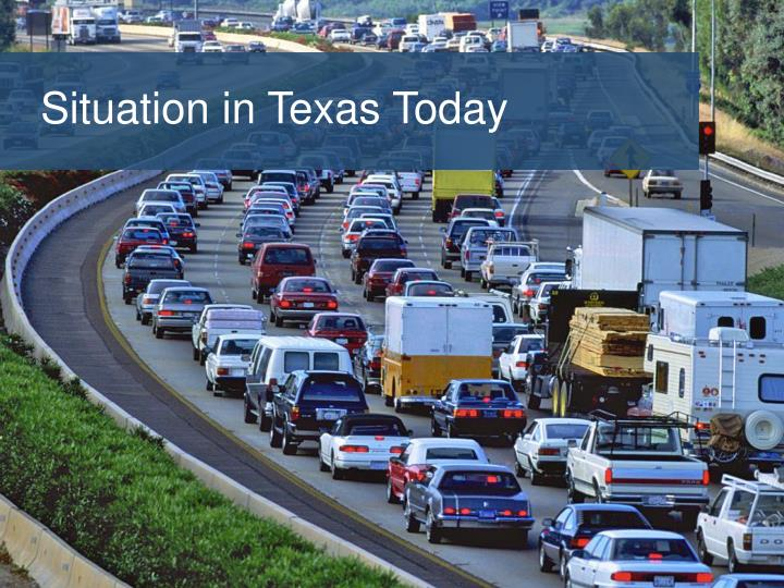 Situation in Texas Today