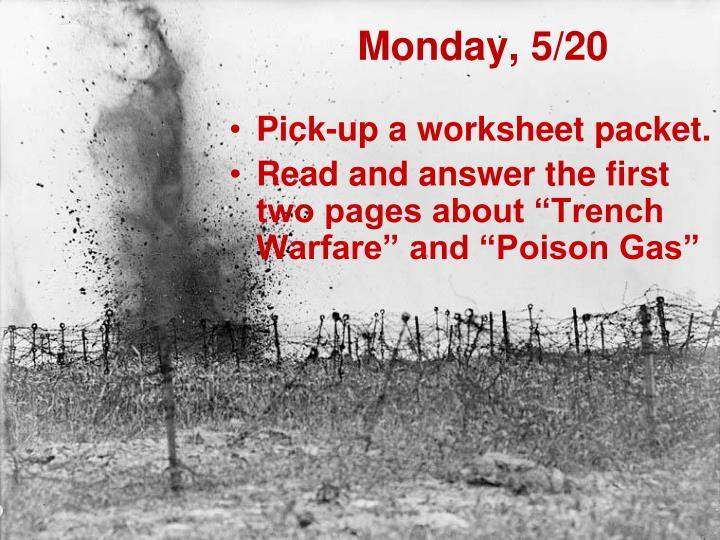 Monday, 5/20