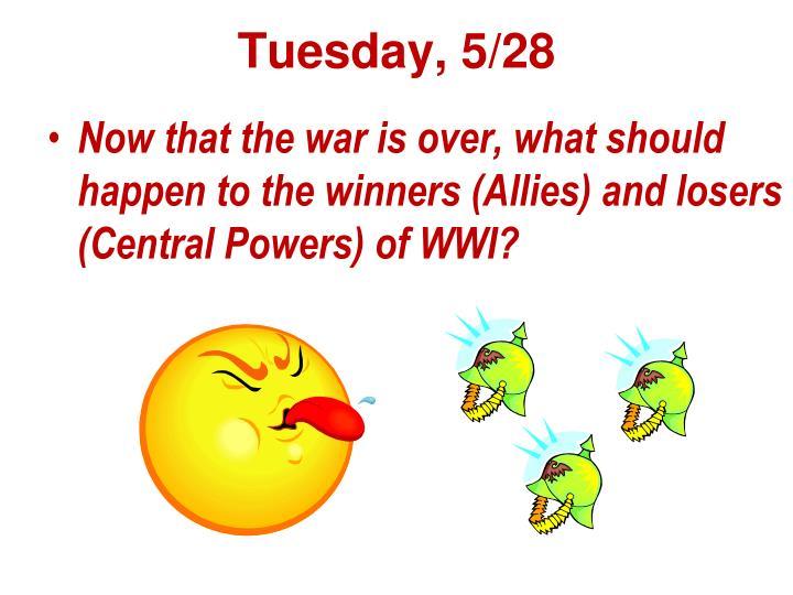 Tuesday 5 28
