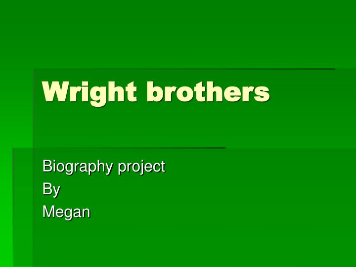 wright brothers n.