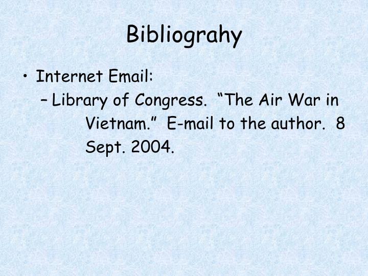 Bibliograhy