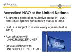 accredited ngo at the united nations