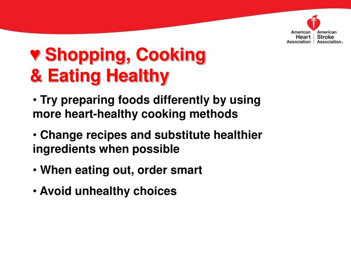 Shopping, Cooking