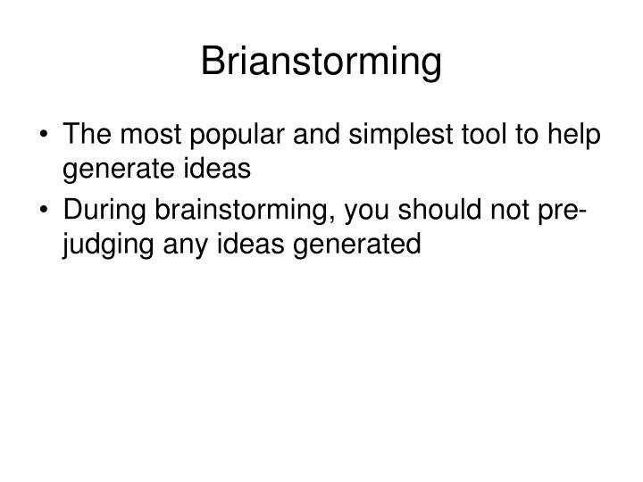 Brianstorming