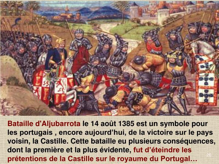Bataille d'Aljubarrota
