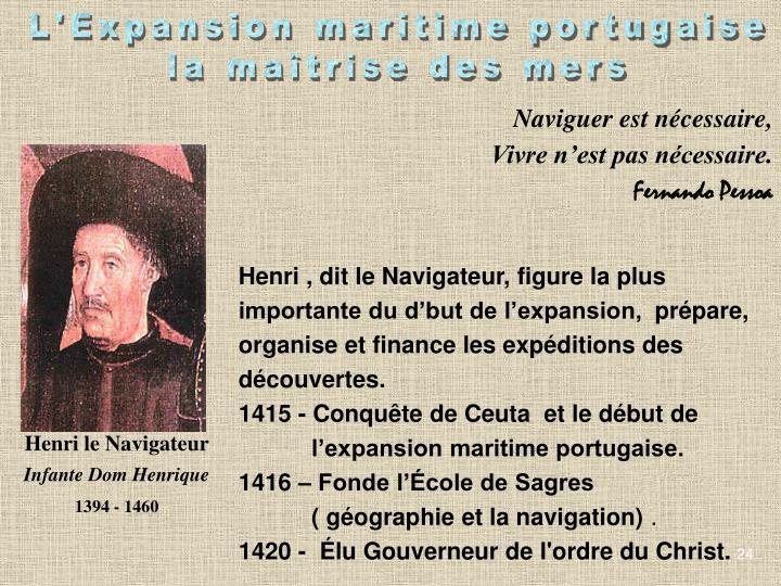 L'Expansion maritime portugaise