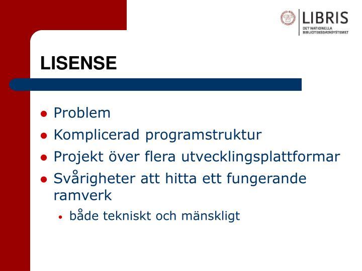 LISENSE