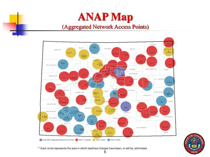 ANAP Map