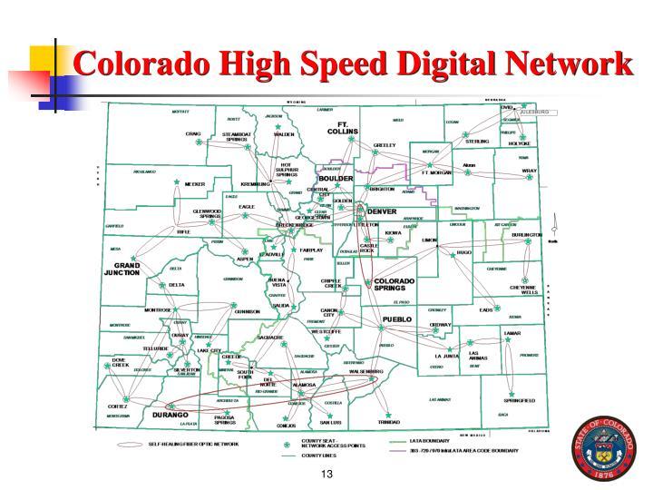 Colorado High Speed Digital Network