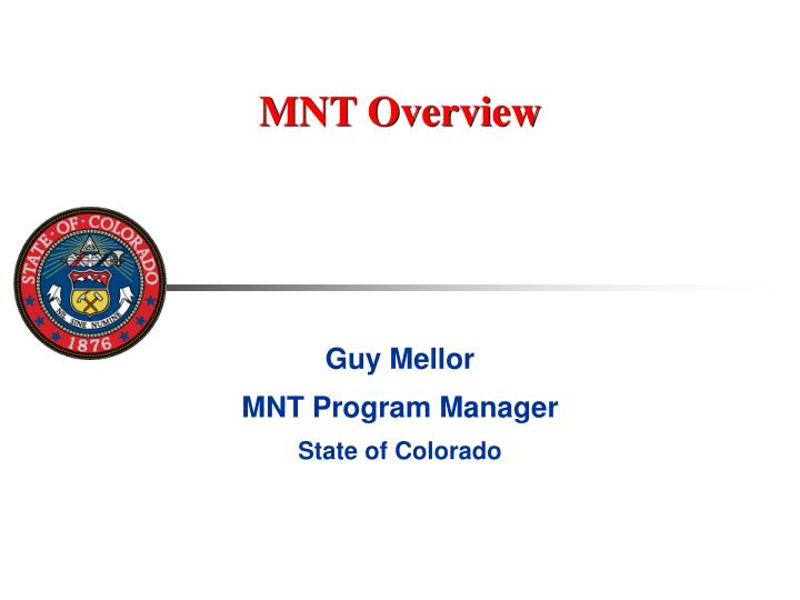 Mnt overview