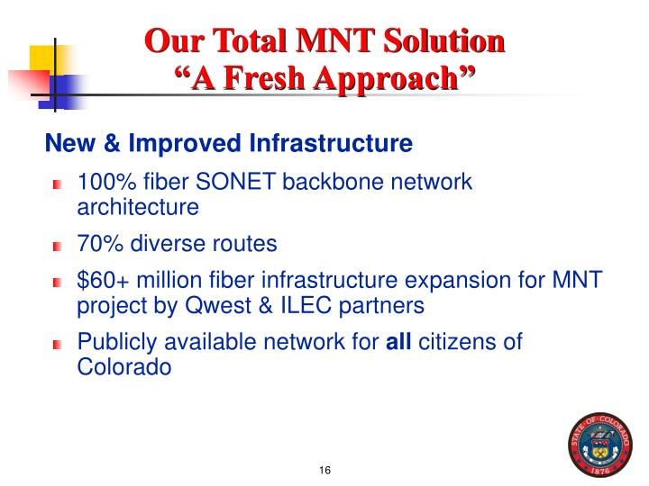 Our Total MNT Solution