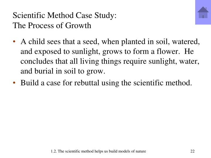 Scientific Method Case Study:
