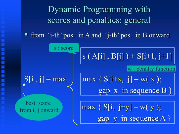 Dynamic Programming with
