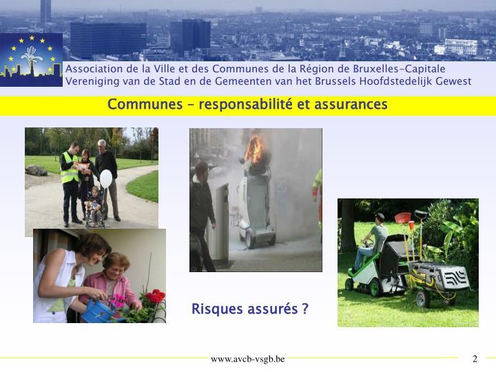 Communes responsabilit et assurances