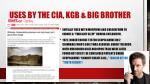 uses by the cia kgb big brother