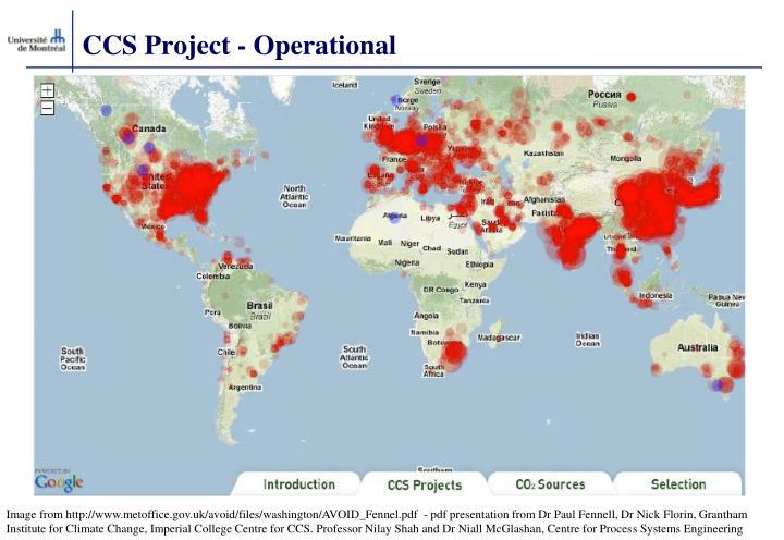 CCS Project - Operational