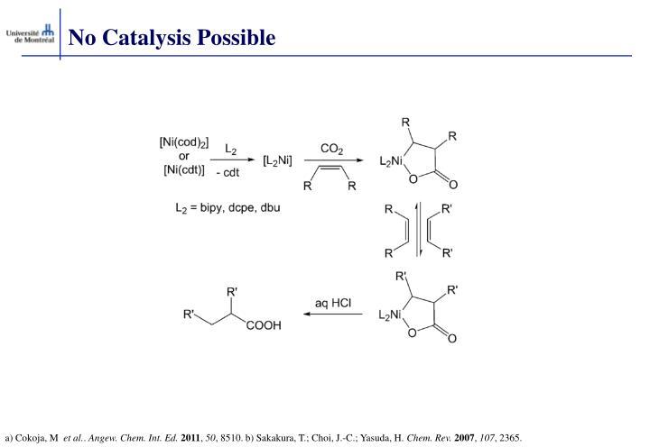 No Catalysis Possible