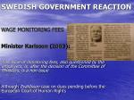 swedish government reaction1