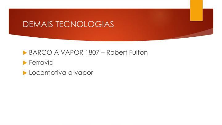 DEMAIS TECNOLOGIAS