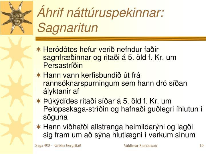 Áhrif náttúruspekinnar:
