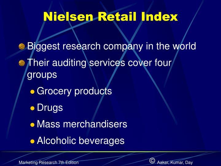 Nielsen Retail Index