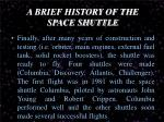 a brief history of the space shuttle5