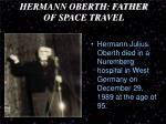 hermann oberth father of space travel11