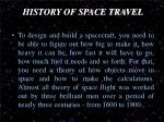 history of space travel1