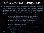 space shuttle computers