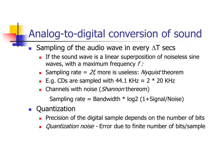 Ppt Introduction To Multimedia Analog Digital