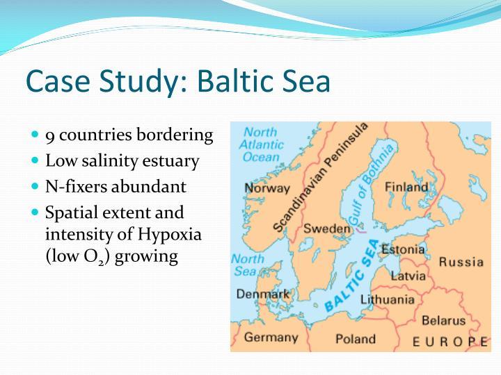 Case Study: Baltic Sea