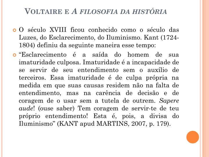 Voltaire e