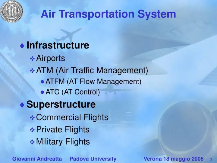 Air transportation system
