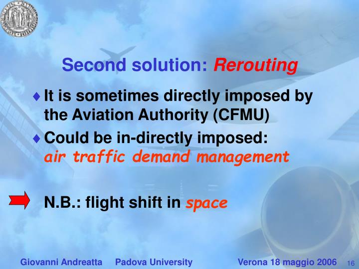 Second solution: