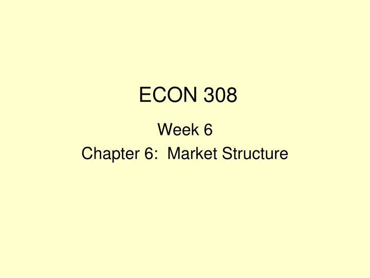 week 4 market structure University of phoenix material differentiating between market structures table compare the four market structures by filling in the table.