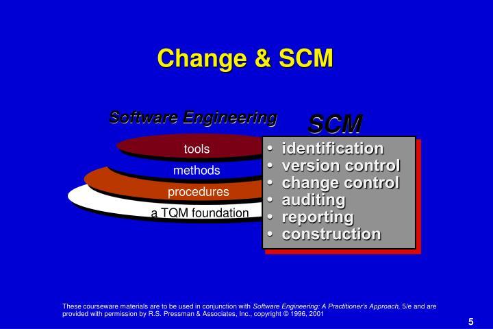 Change & SCM